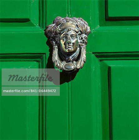 Georgian door, Dublin, County Dublin, Republic of Ireland, Europe