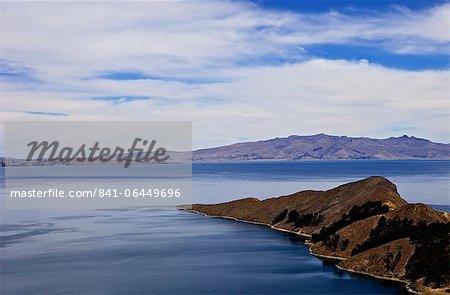 Bahia Kona, Isla del Sol, Lake Titicaca, Bolivia, South America