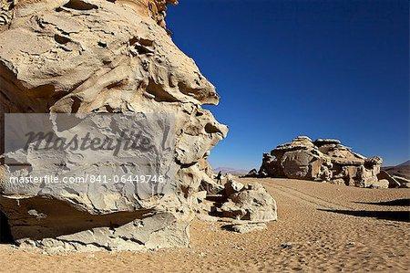 Rock formation in the Eduardo Avaroa Andean Fauna National Reserve, Southwest Highlands, Bolivia, South America