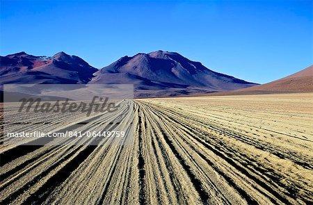 Salvador Dali Desert  Dali Valley (Valle de Dali), Southwest Highlands, Bolivia, South America