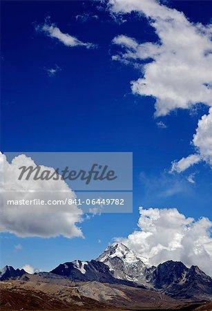 Mount Huayna Potosi, Calahuyo, Cordillera real, Bolivia, Andes, South America