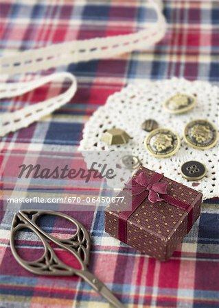 Gift box and variety goods