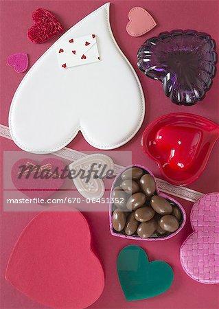 Différents types de cœurs
