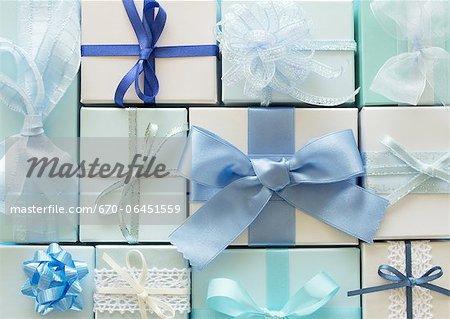 Plusieurs types de coffrets cadeaux
