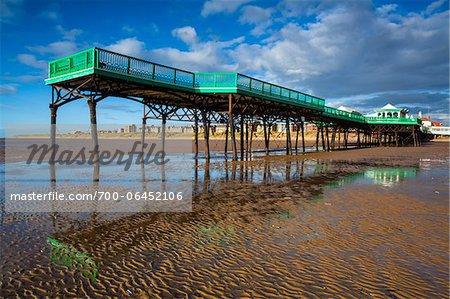 Pier, Lytham St Annes, Lancashire, England