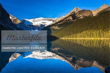Lake Louise at Sunrise, Banff National Park, Alberta, Canada