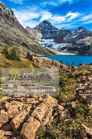 Rocky Terrain at McArthur Lake, Yoho National Park, British Columbia, Canada