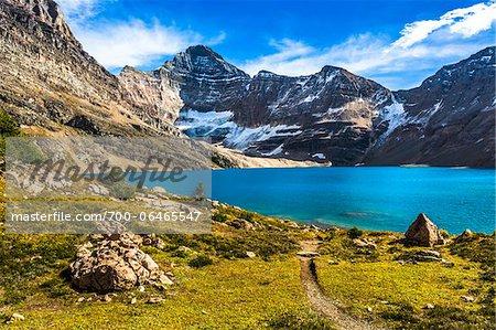 Hiking Trail at McArthur Lake, Yoho National Park, British Columbia, Canada