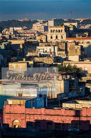 Overview of City, Havana, Cuba