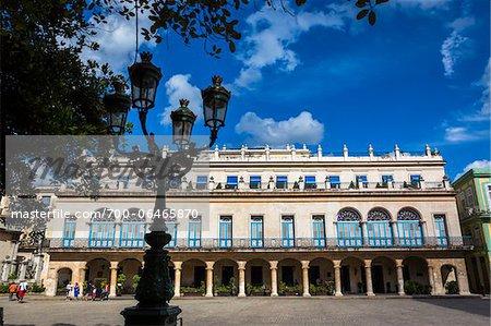 Hotel Santa Isabel, Plaza de Armas, Old Havana, Havana, Cuba