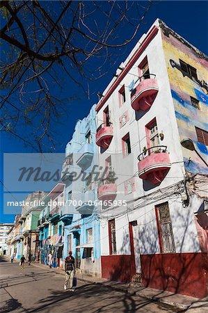 Street View of Callejon de Hamel, Havana, Cuba