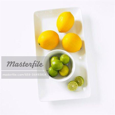 Key Limes and Meyer Lemons