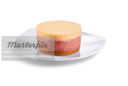 Individual Raspberry Mousse Dessert