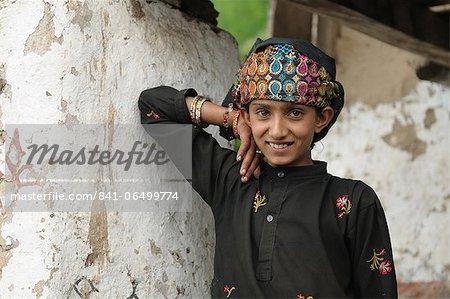 Gujjar girl, Sahoo, Chamba, Himachal Pradesh, India, Asia