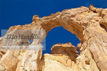 Grosvenor Arch, Cannonville, Grand Staircase-Escalante National Monument, Utah, United States of America, North America