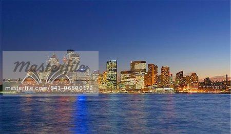 Opera House and Sydney skyline, Sydney, New South Wales, Australia, Pacific