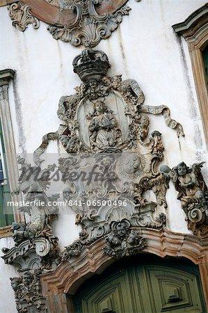 Ouro Preto, UNESCO World Heritage Site, Minas Gerais, Brazil, South America