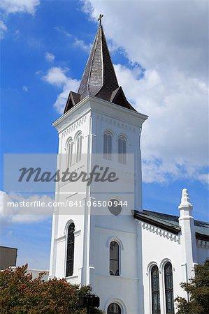 First United Methodist Church, Randolf Avenue, Huntsville, Alabama, United States of America, North America