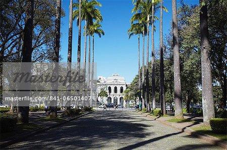Palacio do Governo (Palace of the Government), Praca da Liberdade, Belo Horizonte, Minas Gerais, Brazil, South America