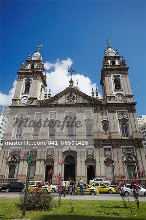 Our Lady of Candelaria Church, Centro, Rio de Janeiro, Brazil, South America