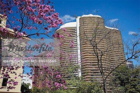 Niemeyer Building, Belo Horizonte, Minas Gerais, Brazil, South America