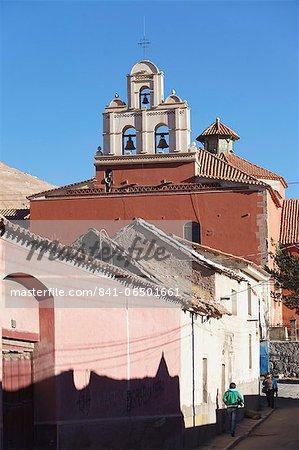 Iglesia Copacabana (Copacabana Church), Potosi, UNESCO World Heritage Site, Bolivia, South America