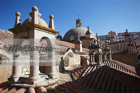 Rooftop of San Francisco Church, La Paz, Bolivia, South America