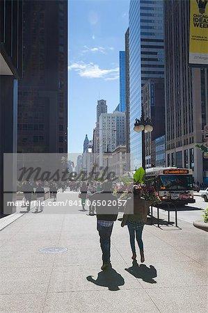 North Michigan Avenue, Chicago, Illinois, United States of America, North America
