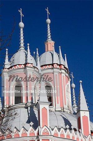 Chesma church, St. Petersburg, Russia, Europe