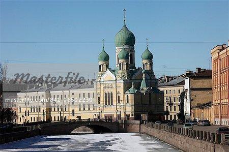 Orthodox church, St. Petersburg, Russia, Europe