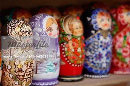 Matryoshka (babushka) dolls, St. Petersburg, Russia, Europe