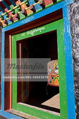 Namche Gompa (Monastery), Namche Bazaar, Solu Khumbu Region, Nepal, Asia