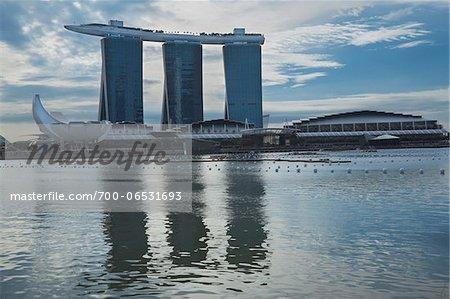 Marina Bay Sands casino and hotel, Singapore