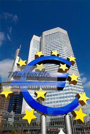 European Central Bank, Frankfurt, Germany