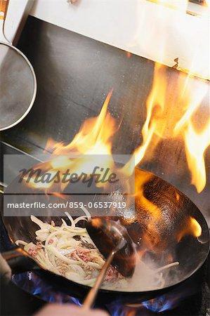 Cooking ramen