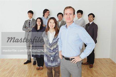 International group portrait