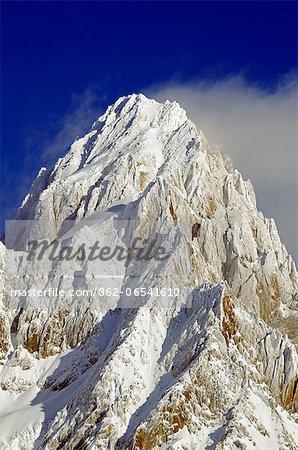 Europe, France, French Alps, Haute Savoie, Chamonix, mountain above Argentiere