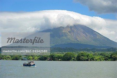 Volcan Conception on Ometepe Island, Lago de Nicaragua, Nicaragua