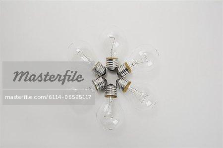 Lightbulbs in a circle