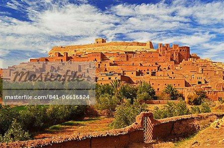 Kasba of Ait-Benhaddou, UNESCO World Heritage Site, Morocco, North Africa, Africa