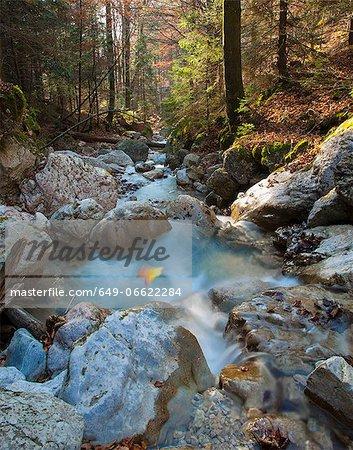 Long exposure of rocky creek