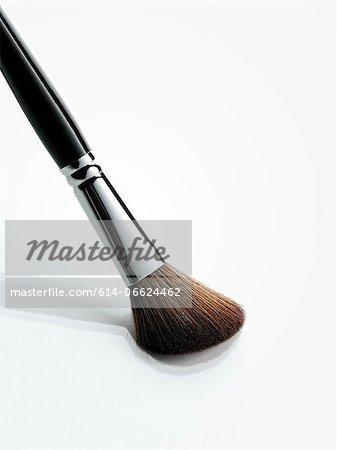 Close up of makeup brush