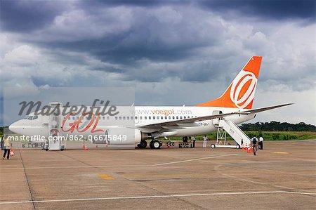 Brazil, Acre, Rio Branco, GOL Boeing 737   700 at Rio Branco airport