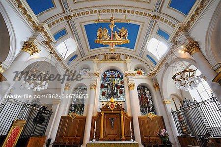 Europe, England, London, St Mary Le Bow Church