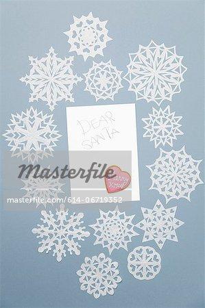 Illustration of blank Christmas card