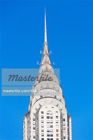 Top of Chrysler Building, New York City