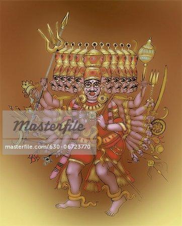 Ravana the Demon king
