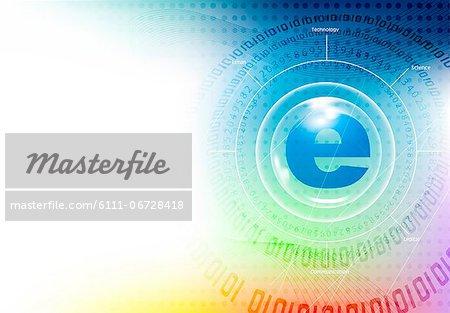 Illustration of e-commerce