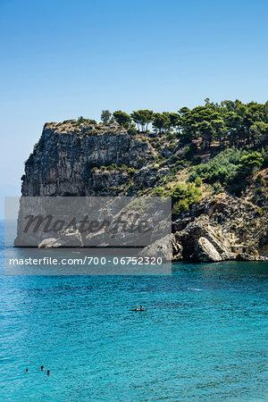 Italy, Sicily, Trapani district, Scopello, Guidaloca Beach