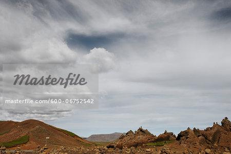 Rocky Landscape, Reykjanes, Iceland